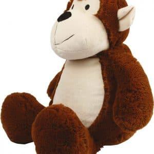 Peluche Macaco com personalização em bordado