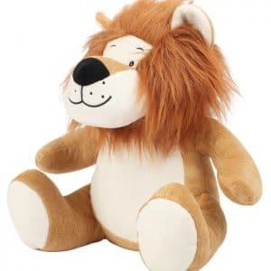 peluche Leão personalizado em bordado
