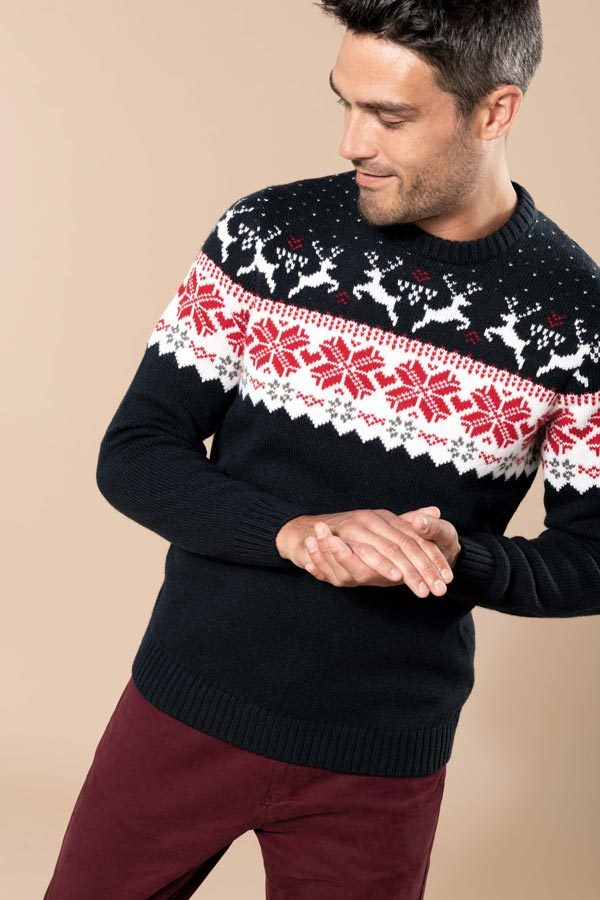 Pullover de Natal Veado