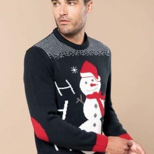 Camisola Pullover de Natal Unissexo Ho Ho Ho