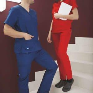 Conjunto Médico Bata e Calça