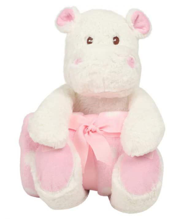 Peluche Hipopotamo personalizado em bordado