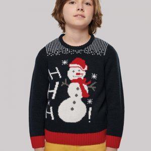 Camisola Pullover de Natal para Criança