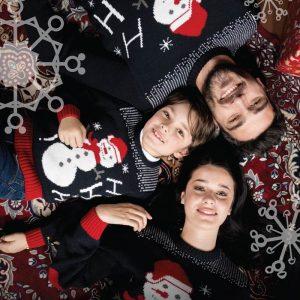 Camisola de Natal Familia Pullover