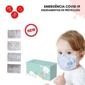 Máscara Cirúrgica para Crianças