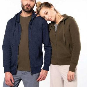 Casaco Sweatshirt Organica Bio com Capuz