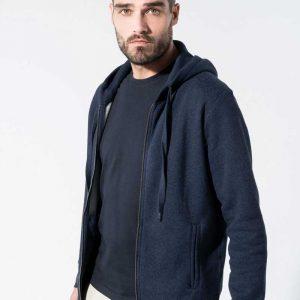 Casaco Sweatshirt Orgânica Bio com Capuz