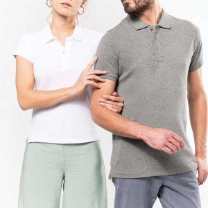 Pólo Bio Orgânico para homem e senhora