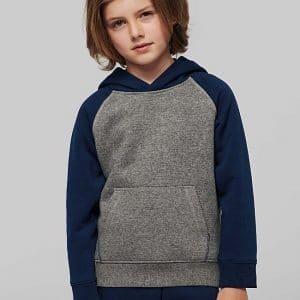 Sweatshirt com Capuz para Criança