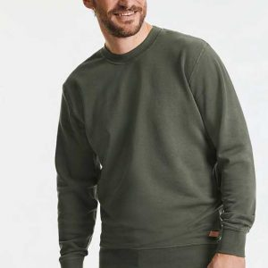 Sweatshirt Orgânica Unissexo Premium, ideal para presente personalizado