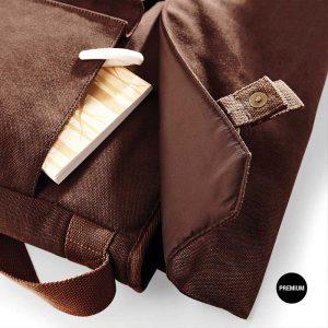 Saco mensageiro estilo Satchel com estilo e moda
